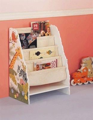 Magazine Rack - Jungle Theme, by Teamson Design