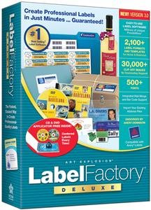 LABEL FACTORY DELUXE 3.0 (SOFTWARE - PRODUCTIVITY)
