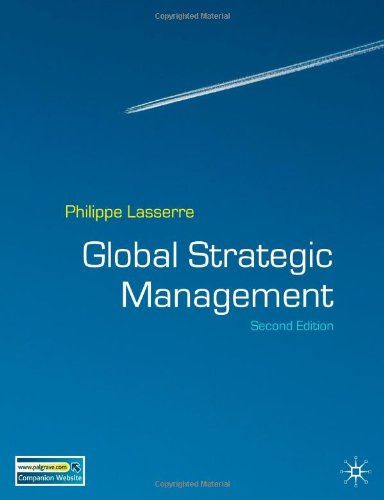 Global Strategic Management, Second Edition