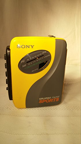 Sony SPORTS Walkman Portable Cassette Auto Reverse Tape Player AM/FM Radio WM-SXF30