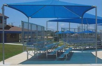 Sports Play 901-092 Stand Alone Shade Structure- 18' x 20'