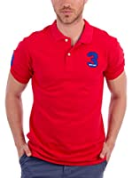 BLUE COAST YACHTING Polo (Rojo)