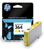 HP Photosmart 7520 Yellow Original HP 364 Printer Ink Cartridge