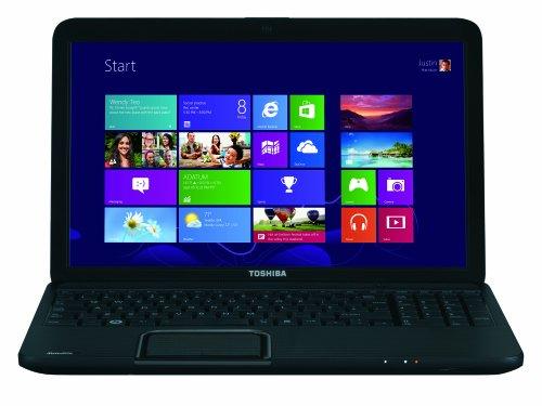 Toshiba Satellite C855-2M3 Notebook da 15.6 Pollici, Radeon HD 7610M 1 GB Dedicato, RAM 6 GB, HDD 750 GB, Nero