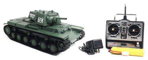 1:16 Airsoft Russian KV-1's Ehkranami Electric RTR RC Tank
