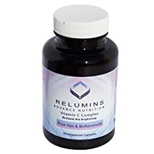 buy Relumins Advance Vitamin C - Max Skin Whitening Complex With Rose Hips & Bioflavinoids - 60 Capsules (30 Day Supply)