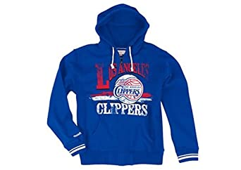 Los Angeles Clippers Mitchell & Ness Start of Season Full Zip Hoody by Mitchell & Ness