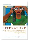 Literature: The Human Experience: Reading and Writing