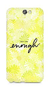 AMEZ you are enough Back Cover For HTC One A9