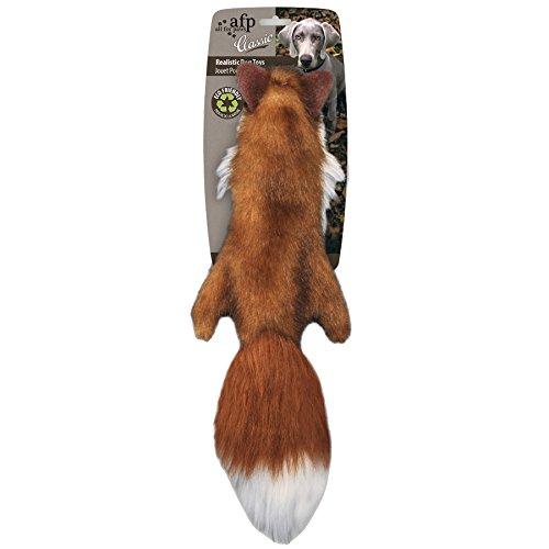 Alle-Fllung-fr-Pfoten-Classic-38-cm-Fox-Fell-Hundespielzeug