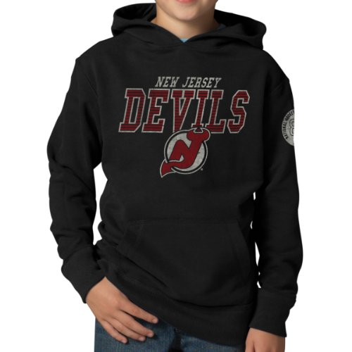 Nhl New Jersey Devils Playball Hoodie Jacket, Large, Jet Black