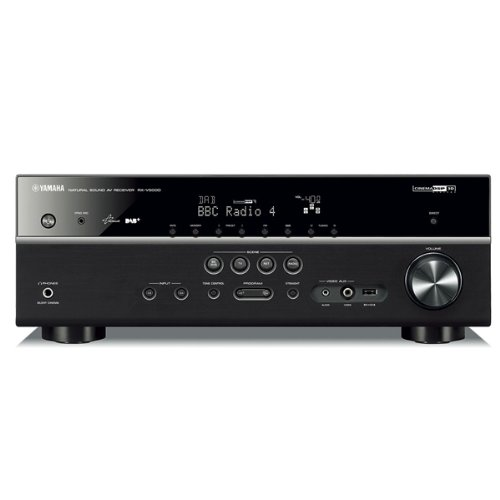 Yamaha 5 Channel AV Receiver with DAB Tuner - Black Black Friday & Cyber Monday 2014