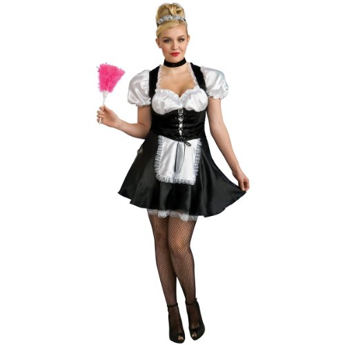 French Maid Plus Size Costume