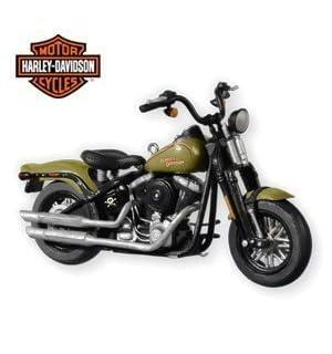 2009 Softail Cross Bones Harley Davidson #12 In Series 2010 Hallmark Ornament