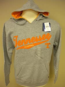 Tennessee Volunteers Mens Hooded Embroidered Sweatshirt, NCAA (Large)