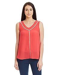 NUN Women's Tunic Shirt (NUNTU5261_Pink_Small)