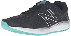New Balance Women's 720v3 Running Shoe, Black/Aquarius, 9 B US
