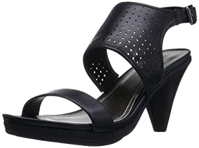 Kenneth Cole REACTION Women's Push Leather LE Sandal by Kenneth Cole REACTION
