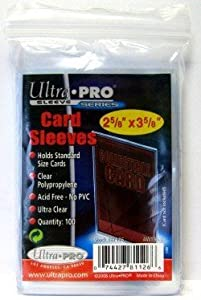 1000 Ultra Pro Soft Sleeves - 10 Packs - Ultra Clear - 3 x 4 by Amigo Spiel + Freizeit