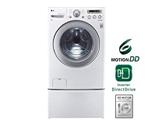 LG WM2250CW3.5 Cu. Ft. White Stackable Front Load Washer