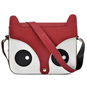 tinxs WMA Red Girl Retro Cute Shoulder Bag Naughty Little Fox Bag Fashion Multifunction