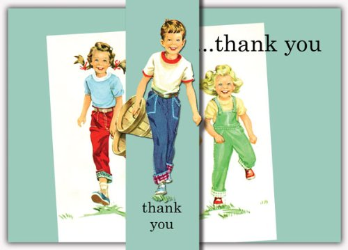Dolce Mia Good Children Thank You Card - Pack of 10 - 1