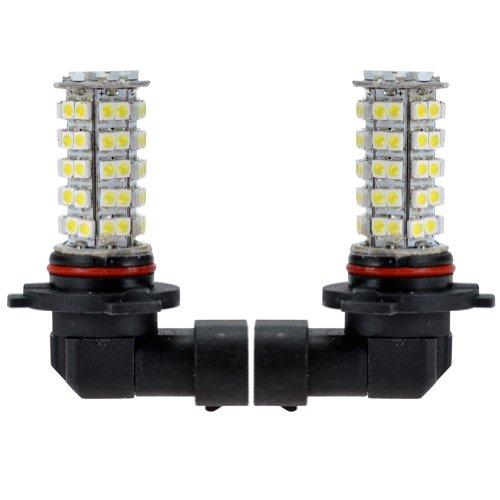 Hot System™ 2 X 9005 White Led Bulbs Headlight Fog Daytime Running Lights 68-Smd / High Beam