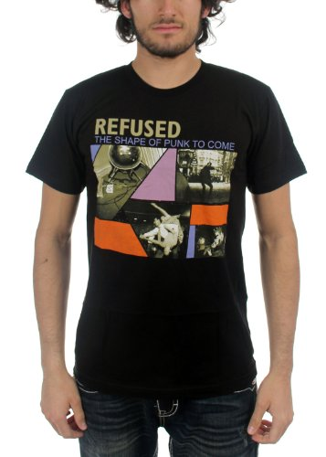 Refused - Top - Uomo Nero  nero