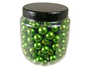 Flying Colour Paintballs 200 x .50 Calibre Metallic Green by Splatmatic