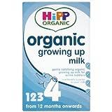 Hipp Organic 有機原料使用・粉ミルク 600g x 8個セット (12か月から) / Hipp Organic (ヒップ オーガニック)