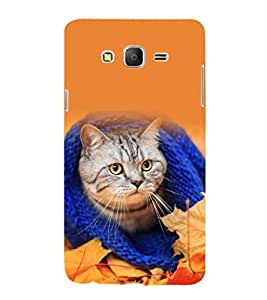 printtech Cat Kitten Cute Back Case Cover for Samsung Galaxy On5