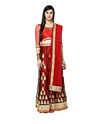 Yepme Hailly Lehenga Choli Set - Red -- YPMLEHG0071_Free Size