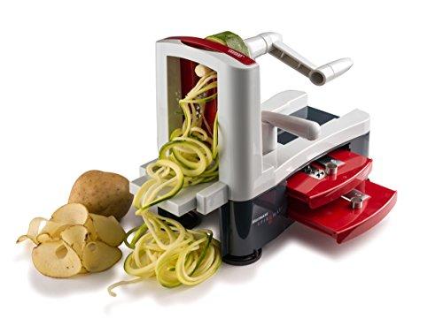Westmark Stainless Steel Tri-Blade Vegetable Spiral Slicer Spiralizer