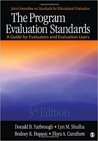 The Program Evaluation Standards: A Guide for Evaluators and Evaluation Users