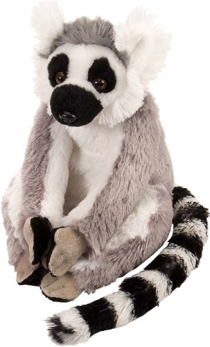 "Wild Republic CK-Mini Ring Tailed Lemur 8"" Plush"