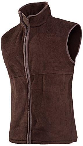 baleno-womens-sally-fleece-gilet-brown-large