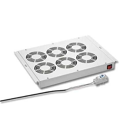 Instalación de ventilador de 6 ventiladores para red y Ser