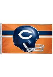 NFL Chicago Bears 3-by-5 foot Flag-Helmet