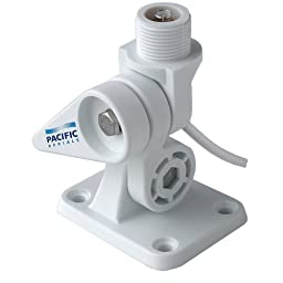 Pacific Aerials Seamaster Pro Nylon Am/Fm Ant Ratchet Mount (Part #P6114 By Pacific Aerials)