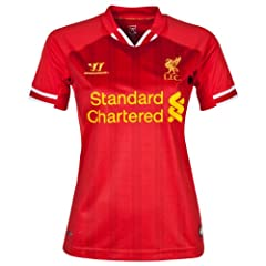 Liverpool Home 2013 14 Ladies Jersey (Official Warrior)