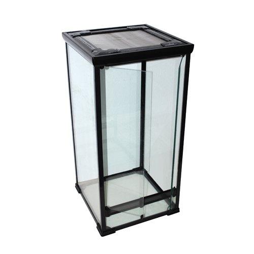 glas terrarium 50x50x100 cm f r cham leons schlangen. Black Bedroom Furniture Sets. Home Design Ideas
