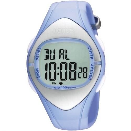 LORUS LADIES BLUE DIGITAL WATCH
