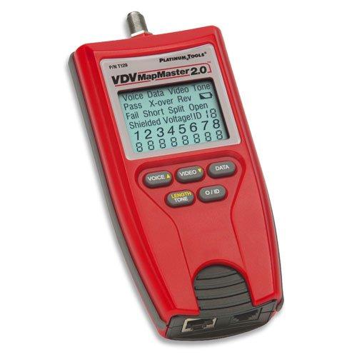 Platinum Tools T129 Vdv Mapmaster 2.0 Tester. Box.