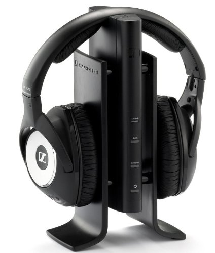 Sennheiser Rs 170 Wireless Headphone With Docking Station