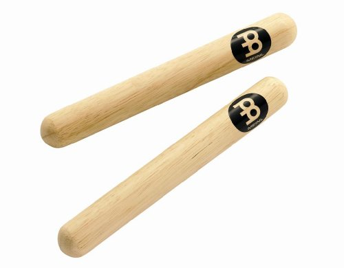 Meinl Percussion CL1HW Classic Solid Hardwood Claves