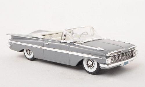 chevrolet-impala-convertible-met-grau-1959-modellauto-fertigmodell-vitesse-143