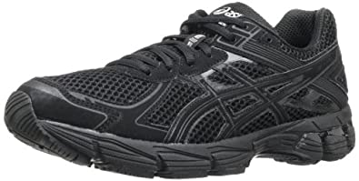 ASICS Women's GT 1000 2 Running Shoe,Black/Onyx/Lightning,5 2A US