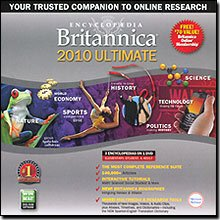 Encyclopedia Britannica 2010 Ultimate