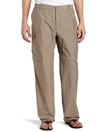 Columbia Men's Crested Butte Convertible Pant, Tusk, Small/34
