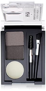 NYX Eyebrow Cake Powder, Black/Gray